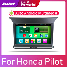 цена на ZaiXi Car Android System 1080P IPS LCD Screen For Honda Pilot 2009~2014 Car Radio Player GPS Navigation BT WiFi AUX