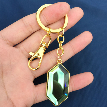 Porte-clés Collier Diamant Emeraude Legend of Zelda