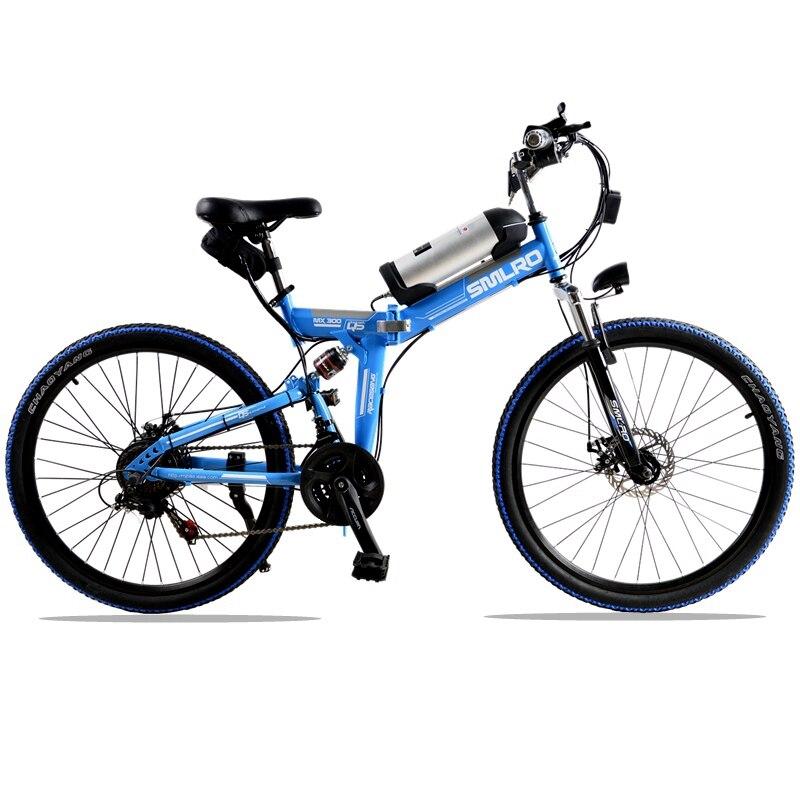 26 дюймов Электрический Велосипед 36 V Литиевая Батарея Электрический Горный Велосипед 350 W Двигателя Складной Электронной Велосипед Максима...