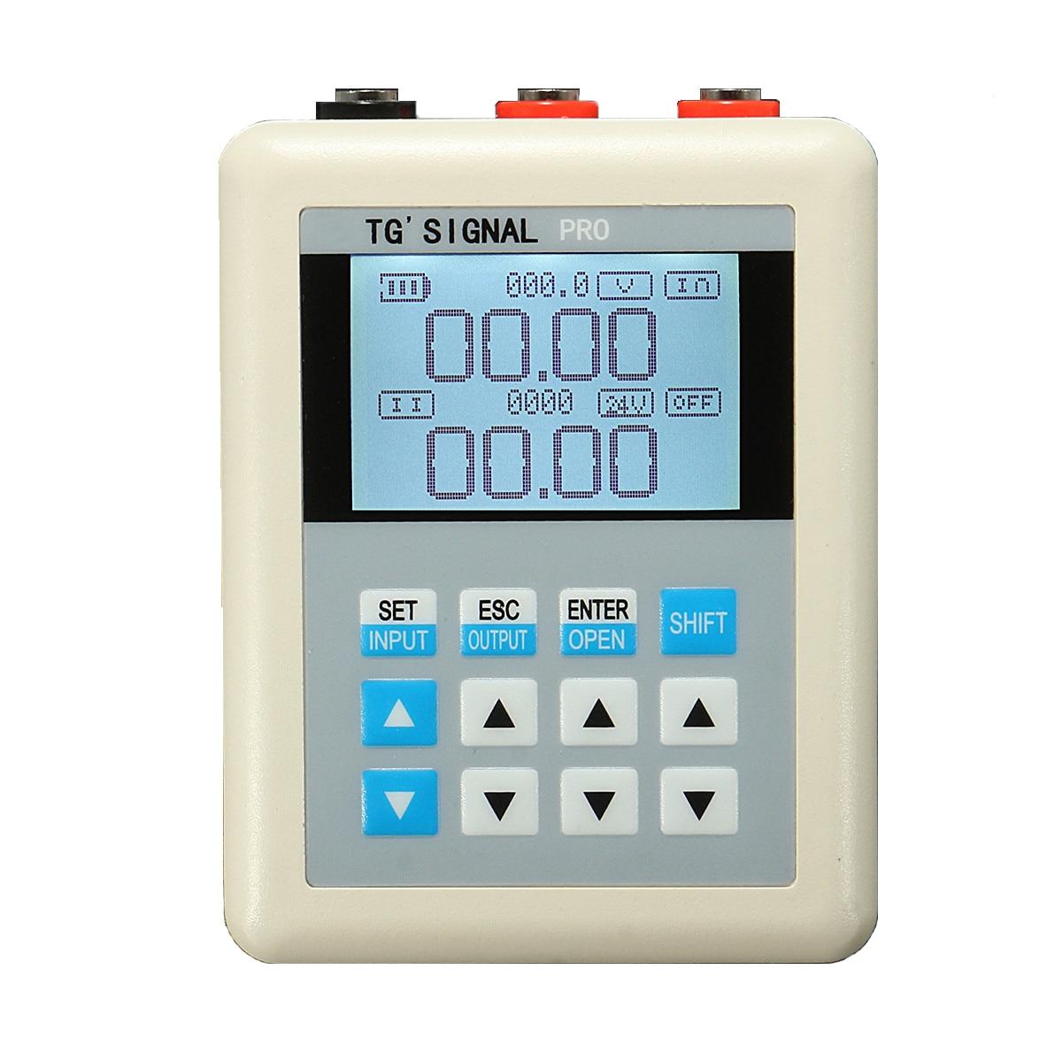 4 pièces 4-20mA générateur de Signal de courant 0-10 V générateur de Signal de tension Source émetteur enregistreur PLC étalonnage de la vanne