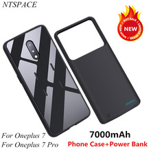 Portable Battery Charger Case For Oneplus 7 Pro Power Case 7000mAh Power Bank Charging Cover For Oneplus 7 External Battery Case