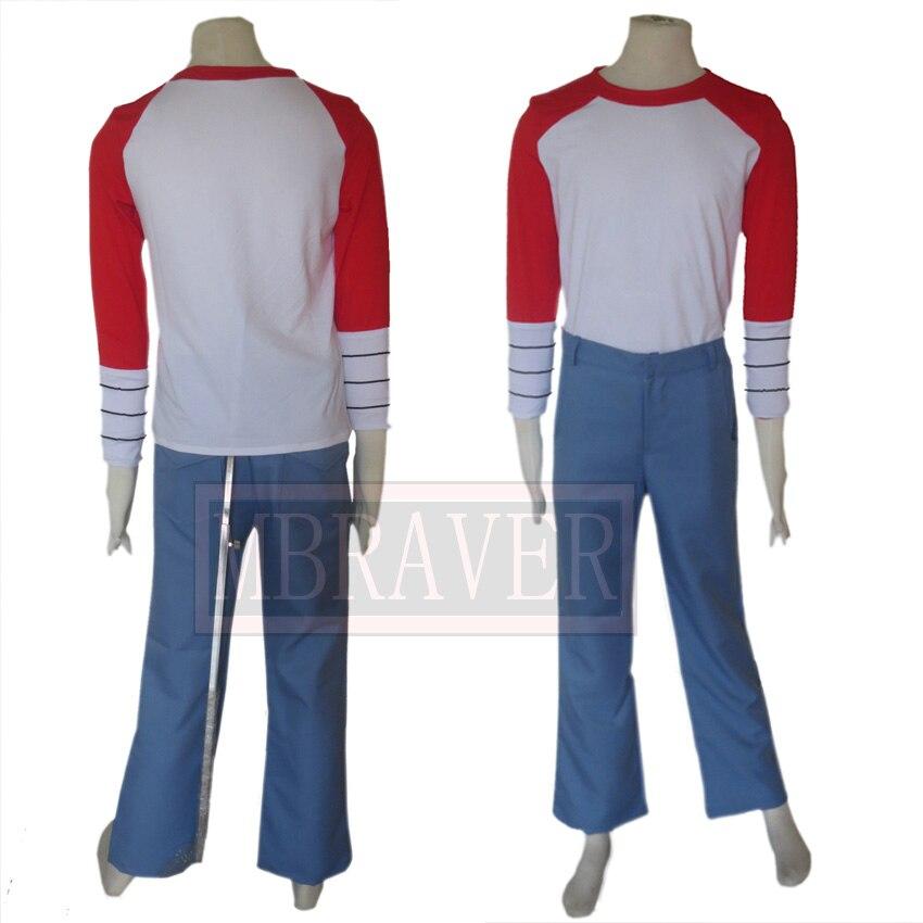 Free Shipping Saint Seiya Omega Pegasus Koga Uniform Cosplay Costume Custom Made