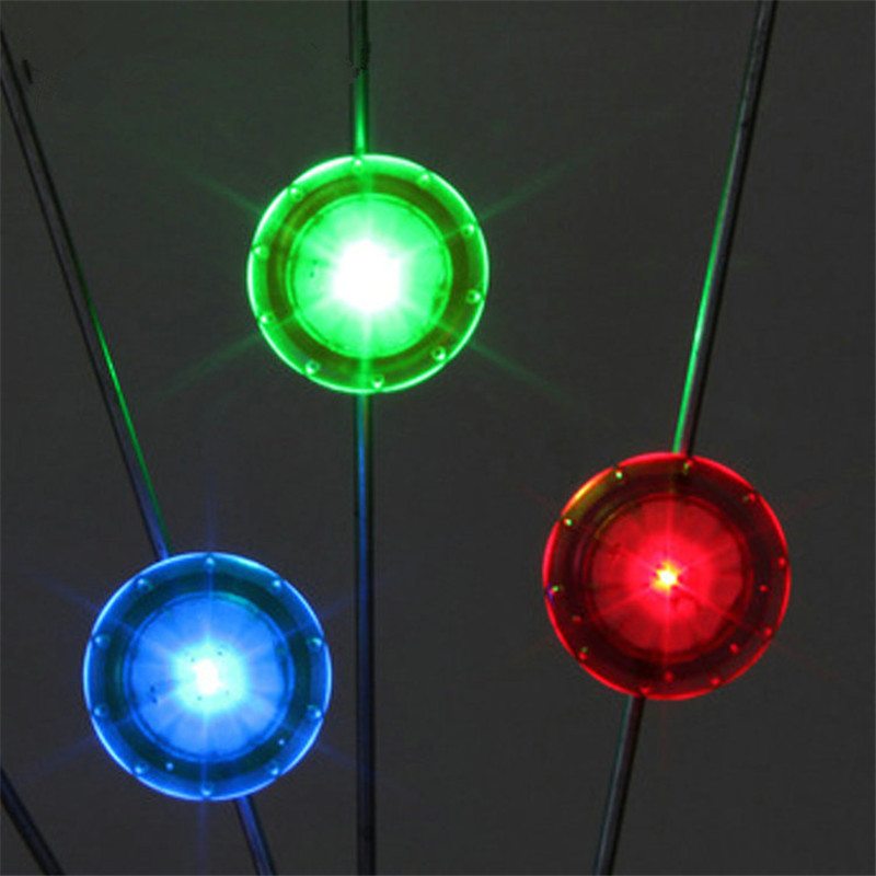 Bicycle Lights 1PC Colorful Cool Shining Cycling Wheel Spoke Lights Night Riding Lamp Bike Lamp