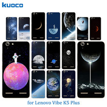 for Lenovo Vibe K5 Coque K5 Plus Lemon 3 A6020 Bag Space World Pattern Soft TPU Silicon Capa Full Protect Shell Clear Phone Case(China)