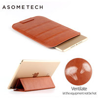 Luxury Sleeve Pouch Bag Case For Ipad 2 3 4 Retro Shockproof PU Leather For Ipad