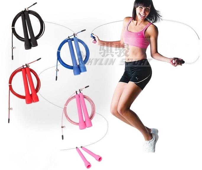 Freies Verschiffen spezielle Geschwindigkeit lange Seilspringen professionelle Qualität Waren athletischen Wettbewerb Muster Geschwindigkeit Seilspringen
