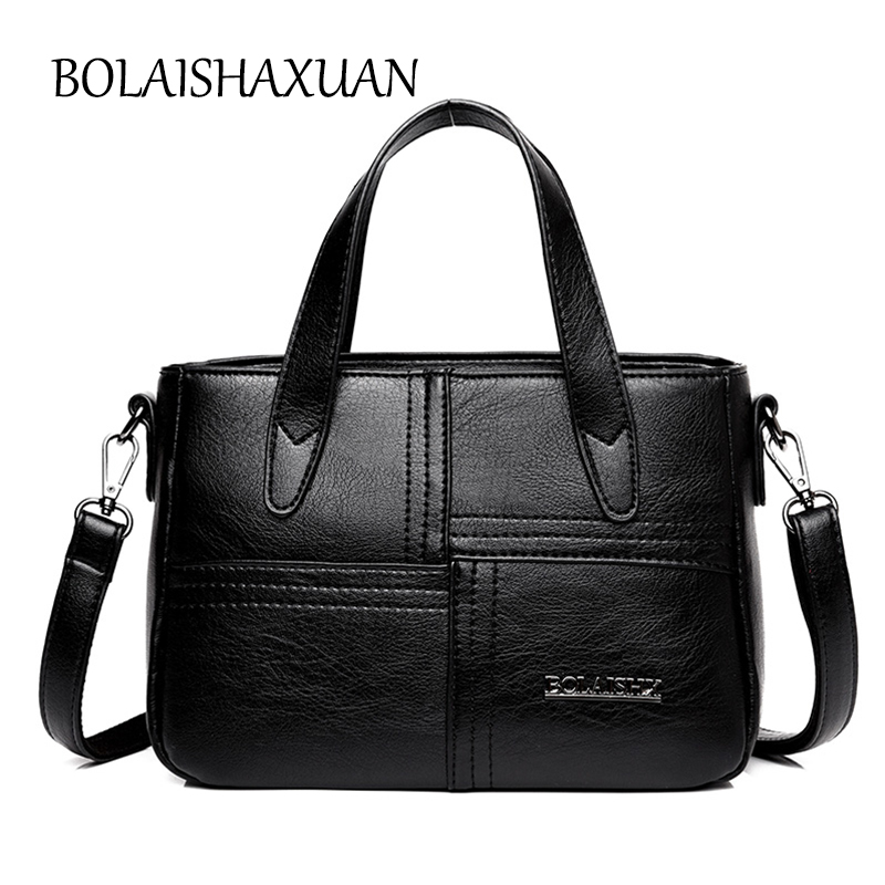 Compare Prices on Black Quilted Leather Tote Bag- Online Shopping ...