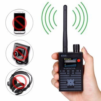 G318 Portable Anti-eavesdrop Anti-tracing Anti-tracking Wireless Signal RF Bug Amplification Detector CDMA 2G 3G 4G GPS Finder