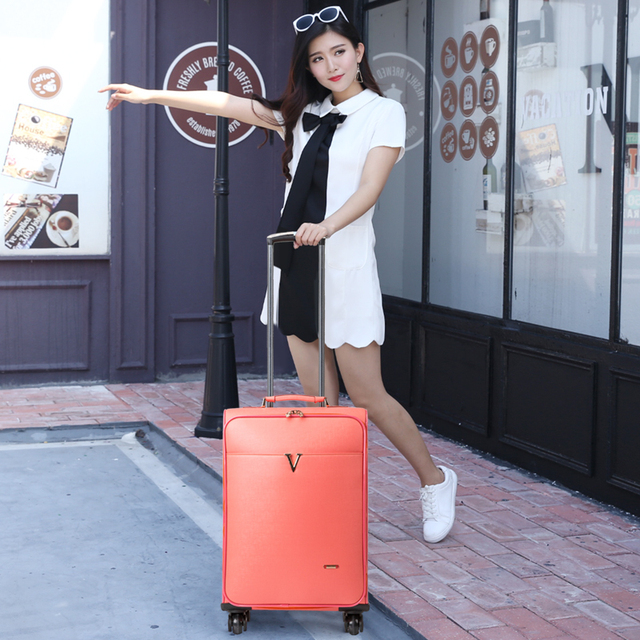 Travel bag luggage universal wheels trolley luggage 20 pull box package soft box,high quality europ fashion luggage bags