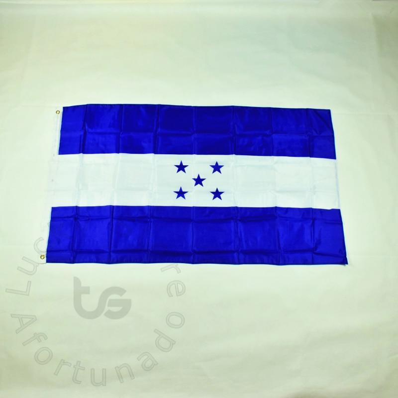 f482e3b1e هندوراس 90*150 cm العلم راية شحن مجاني شنقا هندوراس العلم الوطني ل تلبية ،  موكب ، حزب.