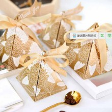 30pcs paper Candy Boxes kids birthday Party Wedding Baby Bridal Shower Gift bag package With thank you Tags pink blue gold red