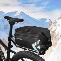 ROSWHEEL 141415 6L Bicycle Rear Rack Trunk Bag Cycling Pannier Handbag