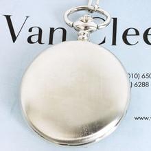 Лидер продаж Classic Silver полированная Скелет Механический ручной взвод карманные часы флип коллекция Карманный Часы