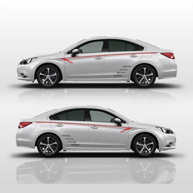 TAIYAO car styling sport autocollant de voiture Pour Subaru Legacy Vue Mark Levinson voiture accessoires et stickers auto autocollant