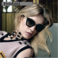 FEISHINI WPGJ068 Vintage Sunglasses Women Polarized Brand 2017 Superstar High Quality REVO UV400 Mirror Glasses Women Cat eye