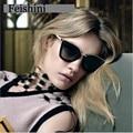 Feishini wpgj068 estrela do vintage óculos de sol mulheres polarizada marca 2017 de alta qualidade uv400 revo espelho óculos mulheres cat eye