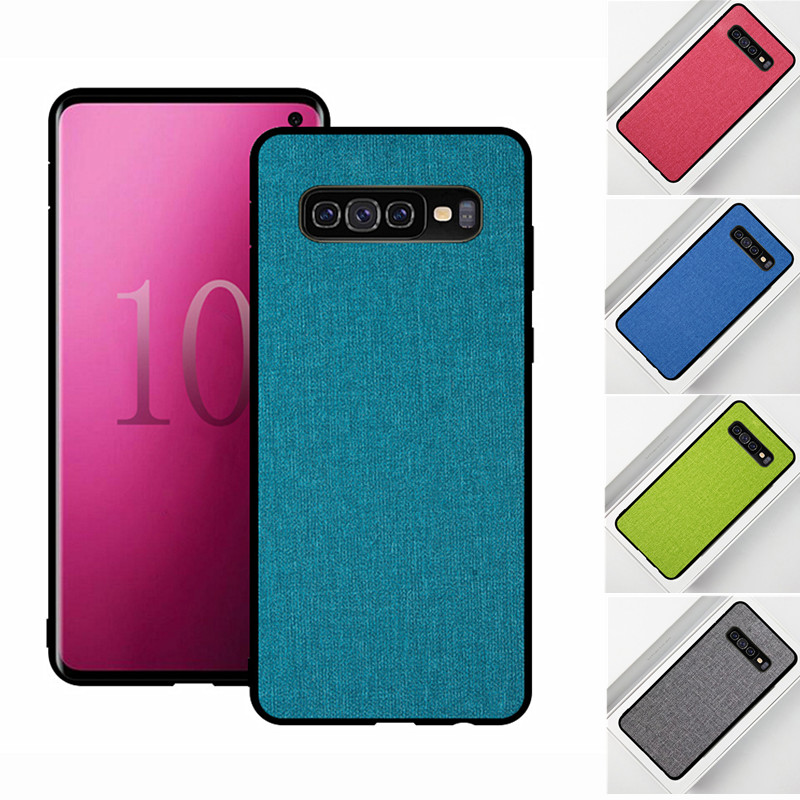 For Samsung Galaxy S10X Case back cover Soft Silicone TPU PC Hard Back Casing shockproof for S10x s10 x case