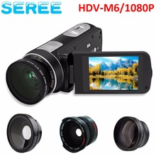 "FHD 1080P Digital Video Camera fotografica Camcorder 20MP 3"" Screen External Battery Support SD Card with HDMI Output filmadora"