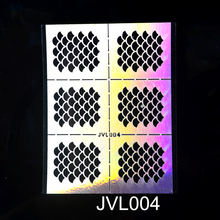 1Pc Hollow Out Nail Art DIY Manicure Decal Decoration