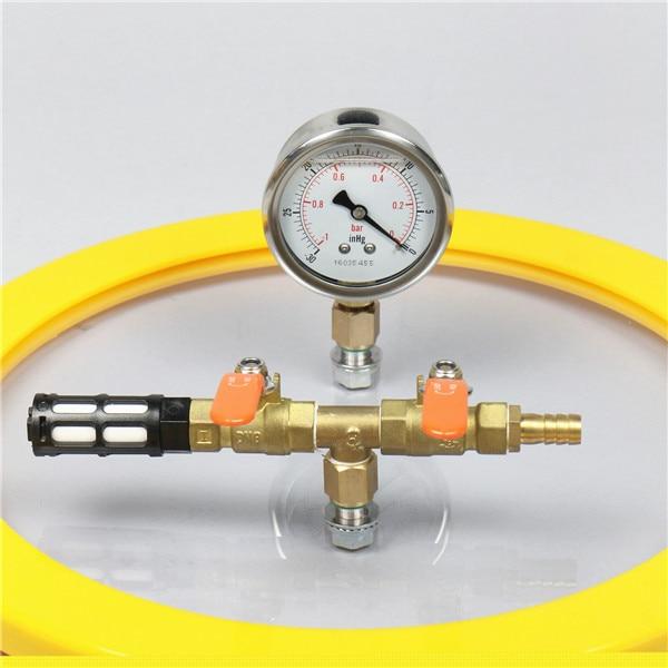 vacuum degassing chamber
