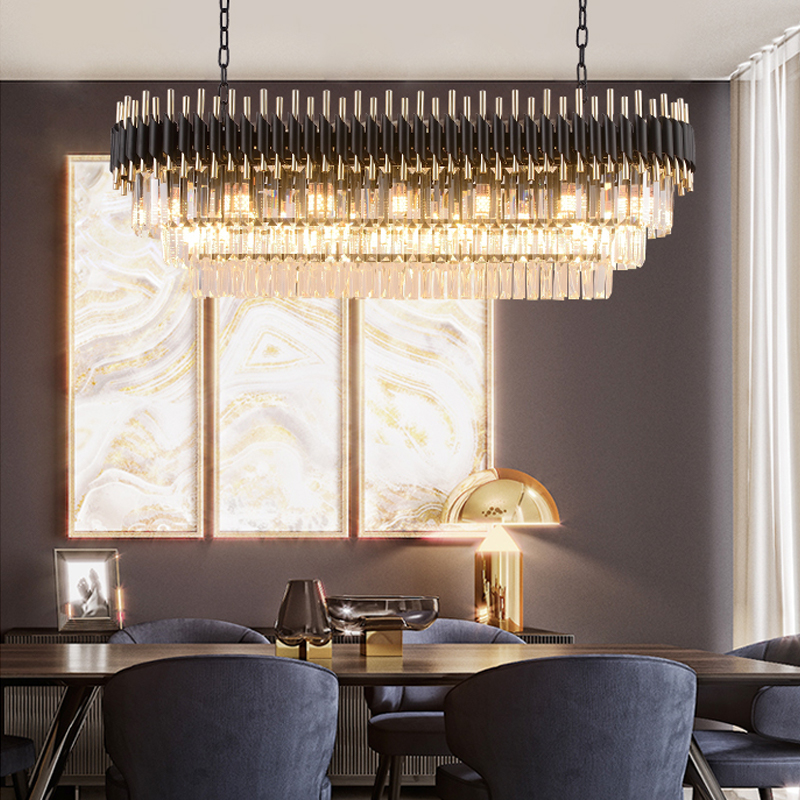 Modern Crystal Chandelier For Dining Room Luxury Kitchen 4