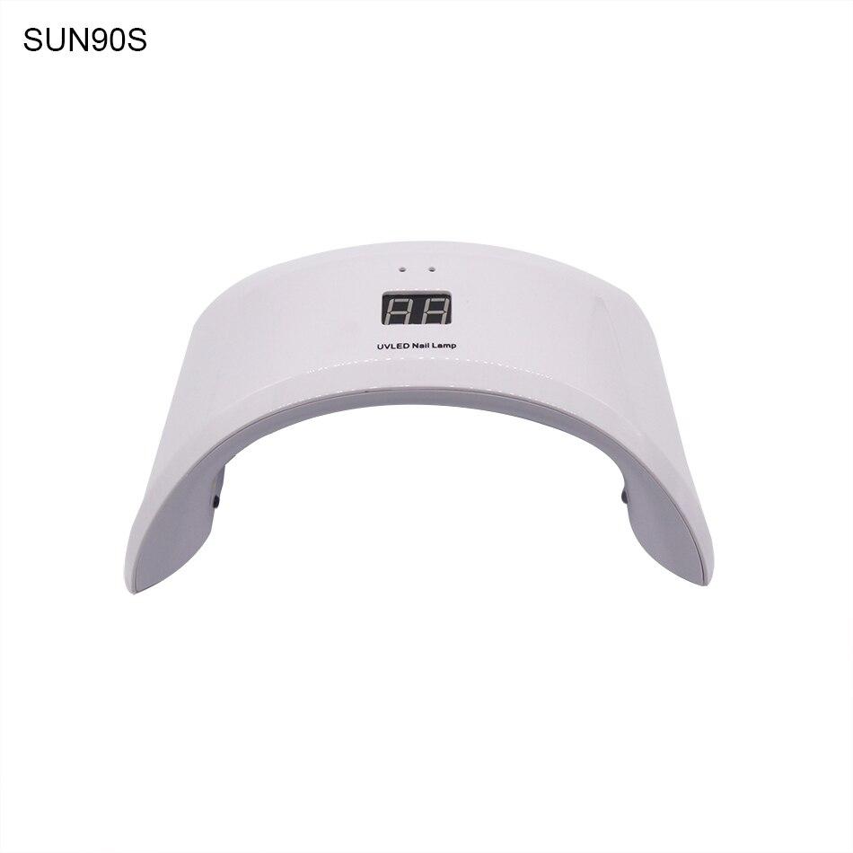 SUN90S 90C 24 W LED Nail Lamp UV Lamp Nail Curing Lamp Nail Droger - Nagel kunst - Foto 2