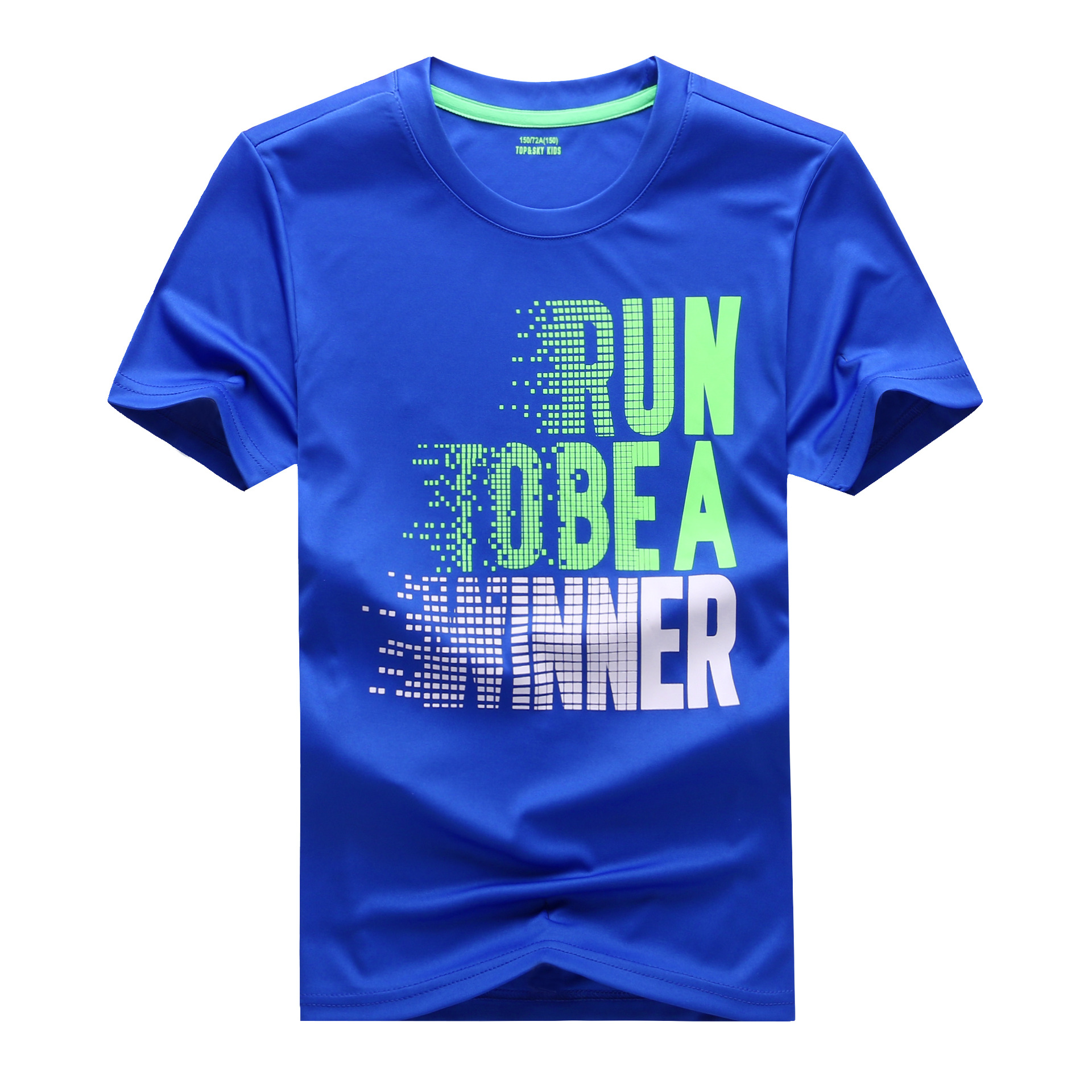 T-Shirt Sport-Tops Teen Baby-Boys Kids Children Summer Short Quick-Drying Running