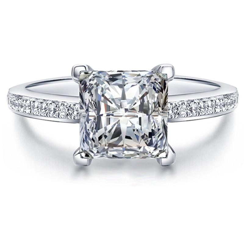 fashion beautiful woman silver plated inlaid aaa zircon wedding ring couple birthday gift msr079china - Beautiful Wedding Ring