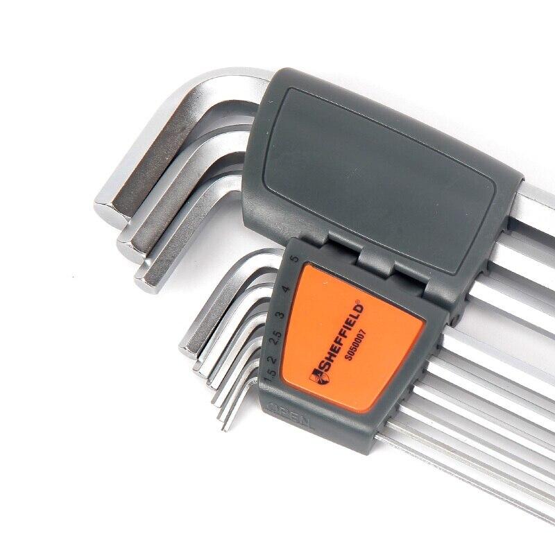 SHEFFIELD ilgos rankos rutulinio galvutės šešiabriaunio - Rankiniai įrankiai - Nuotrauka 3