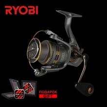 RYOBI SLAM 4000/3000/2000/1000 углерода легкий колеса пресной воды сильнее гладкой литой Титан концепция Карп спиннинговые Катушки