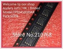 10pcs/lot        TPS5450DDAR       TPS5450DDA        TPS5450         5450          IC REG BUCK ADJ 5A 8SOPWRPAD