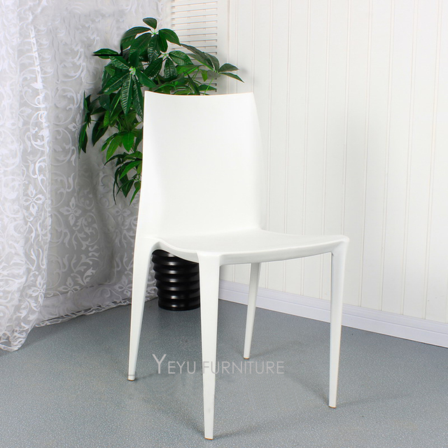 Modern Design Pp Plastic Stackable Dining Chair Fashiondesign Nice - Dining-room-chair-exterior