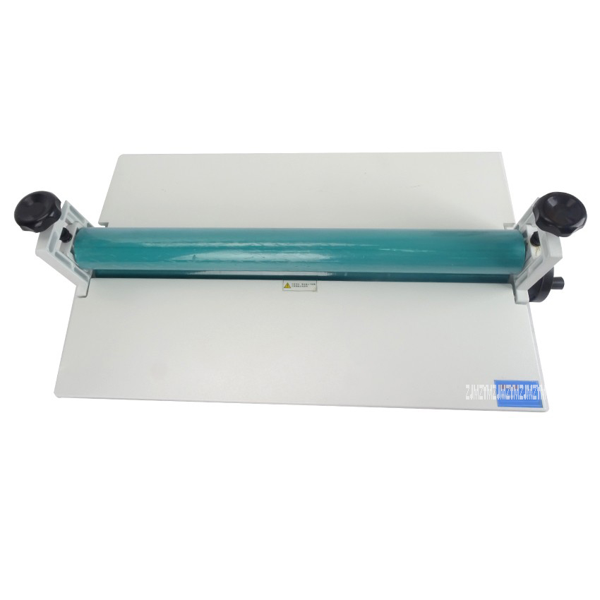 1pc All Metal Frame 25 650mm Manual Laminating Machine Rubber Cold Laminator Photo Vinyl Protect 6inch 150mm manual cold roll laminating machine photo vinyl protect rubber cold mounting laminator