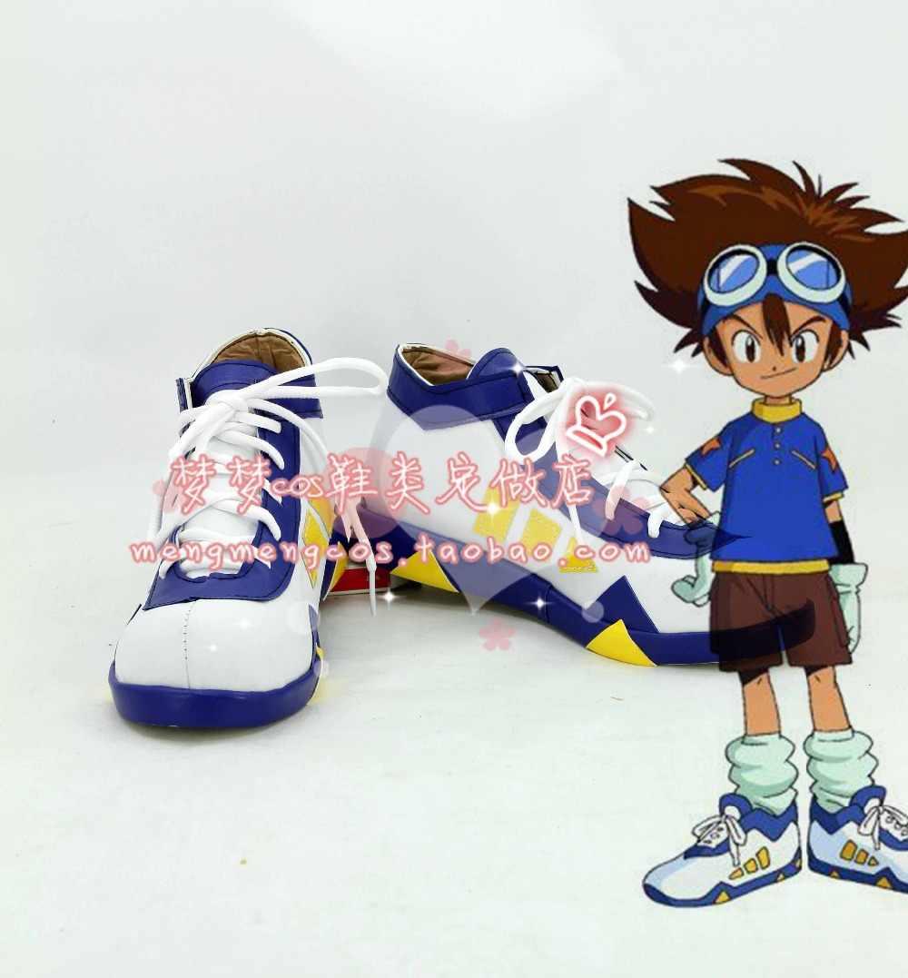 Дигимонс Таити Ягами обувь для косплея ботинки на заказ 2725