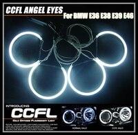 7000 천개 슈퍼 밝은 천사 눈 헤일로 링 라이트 램프 CCFL BMW E36 E38 E39 E46 3 5 7 시리즈 제논 헤드 라이트 무료 배송
