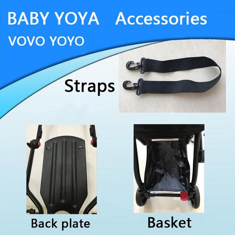 BABYYOYA bébé poussette accessoires panier