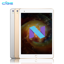 CIGE 2018 Yeni Ücretsiz nakliye 10.1 inç Tablet PC Octa Çekirdek 4 GB RAM 64 GB ROM Çift SIM Kartları 3G WCDMA Android 7.0 GPS T...