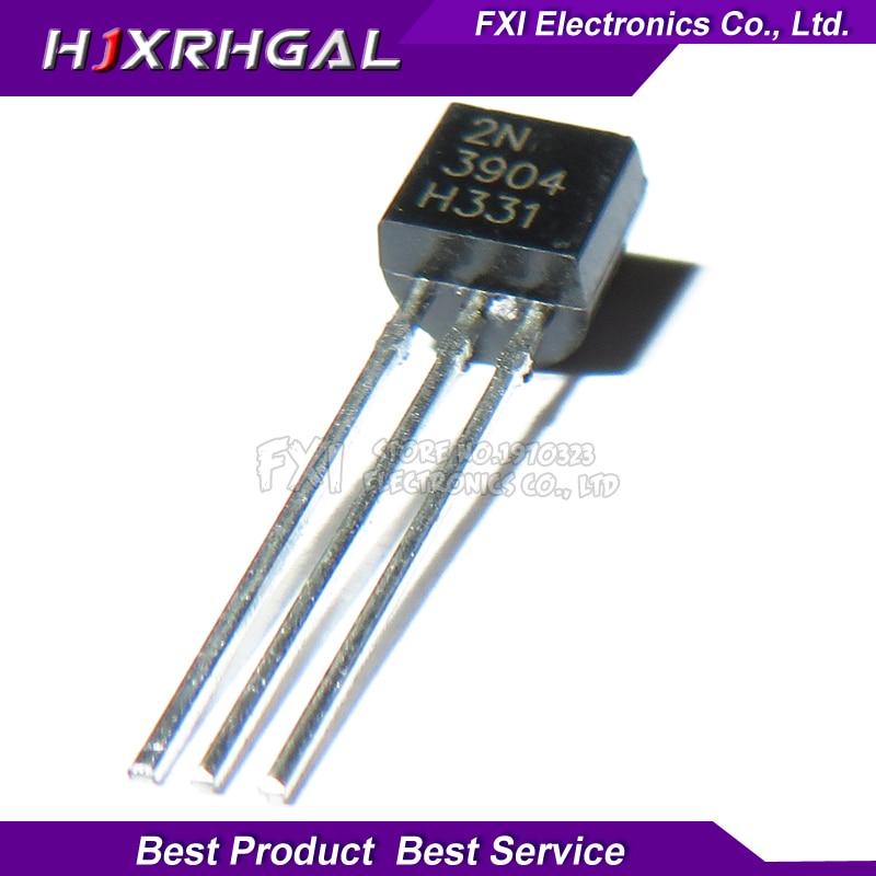 100PCS 2N3904 TO-92 TO92 NPN General Purpose Transistor New original100PCS 2N3904 TO-92 TO92 NPN General Purpose Transistor New original
