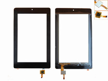 RLGVQDX New For ACER B1-730HD Touch Screen Digitizer Sensor Glass Panel Tablet PC Replacement Parts Black цена