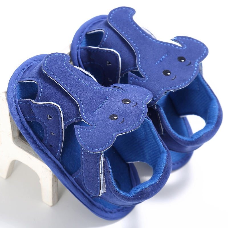 New Style Summer Cute Baby Boys Solid Color Sandals Toddlers Kids Cute Little Elephant Toddler Sandals