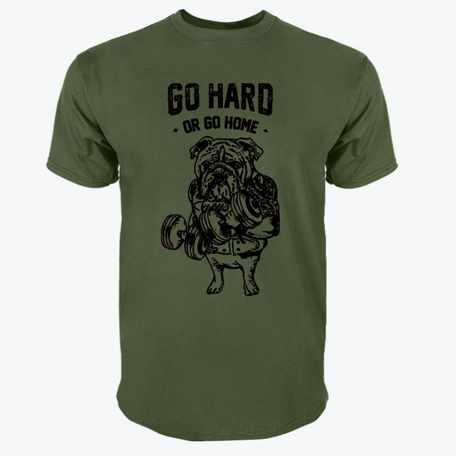 PUG SQUAT EXERCISE T-SHIRT (20 COLORS)