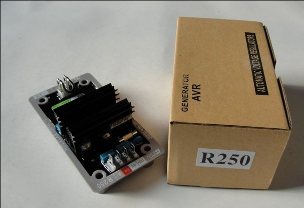 automatic voltage regulator generador AVR R250 brushless alternator spare match brushless generator 20kva voltage regulator avr r250
