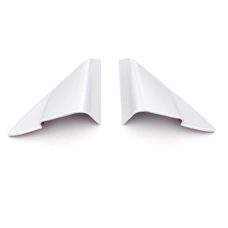 Высокого полета автомобильные аксессуары внутренняя передней двери столб вентиляционное отверстие крышки отделкой ABS Матовый 2 шт. для Toyota ...