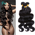100% peruvian virgin hair body wave bundles deal 5bundles 100g/pcs human hair weave body wave extension unprocessed remy hair