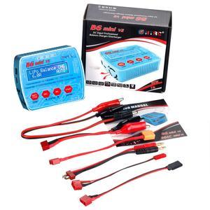 Image 5 - HTRC B6 Mini V2 80W 7A Digital RC Balance Charger Discharger for Lipo Lihv LiIon LiFe NiCd NiMH Battery AC Adapter Optional