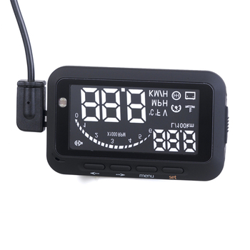 Car Head Up Display Vehicle-Mounted HUD Overspeed Warning OBD2 System F02 Gear Shifting Reminding Tool