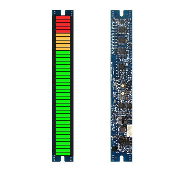 40 сегментный дисплей PPM аудио настольный модуль//усилитель мощности метр/индикатор силы сигнала