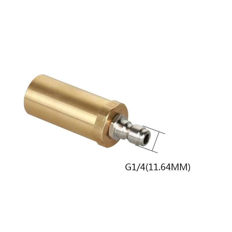 Image 3 - High pressure pure copper rotary nozzle 3600PSI domestic 360 degree ceramic spool wash nozzle-in Water Gun & Snow Foam Lance from Automobiles & Motorcycles