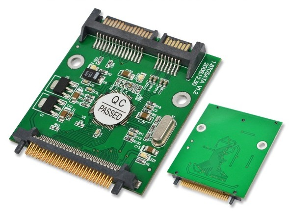 все цены на 50pin 1.8 micro IDE CF to SATA 22 Pin Adapter Compact Flash Type I/II 50pin to 2.5