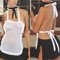 2016 Новая Форма Для Женщин Сексуальные Костюмы Горничной Одежда Эротика Сексуальная Женщина Тела Чулок Секс Белье Белого Белья Горячие